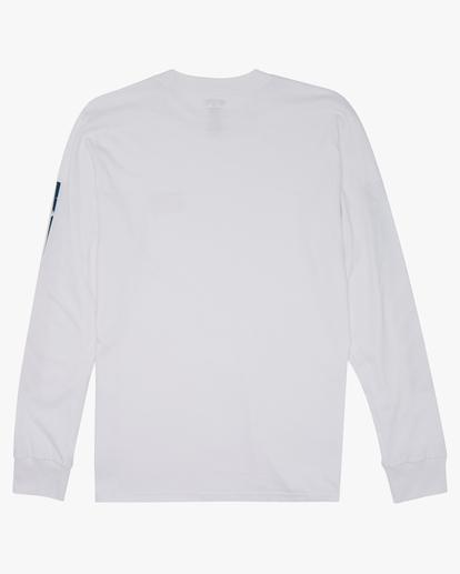 5 Americana Long Sleeve T-Shirt White M4052BAM Billabong