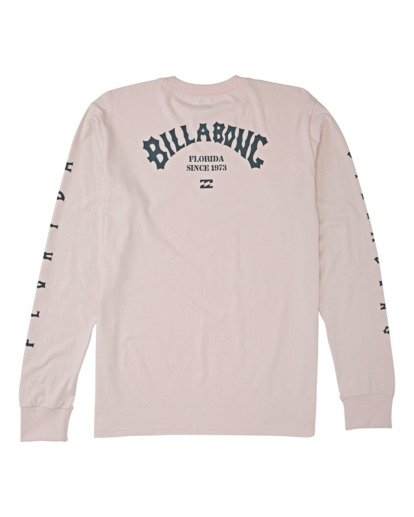 1 Florida Arch Long Sleeve T-Shirt Purple M4052BFA Billabong