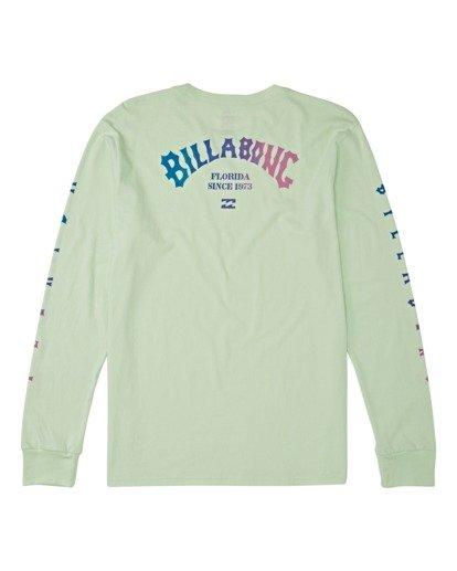 1 Florida Arch Long Sleeve T-Shirt Green M4052BFA Billabong