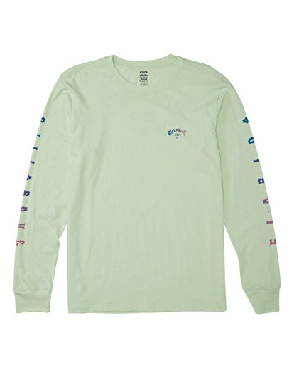 0 Florida Arch Long Sleeve T-Shirt Green M4052BFA Billabong