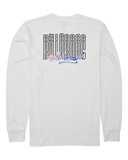 4 Tag Long Sleeve T-Shirt White M4052BTA Billabong