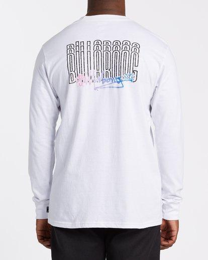 2 Tag Long Sleeve T-Shirt White M4052BTA Billabong