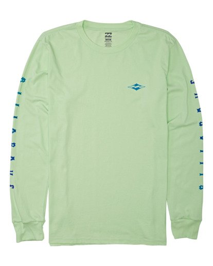 3 Unity Long Sleeve T-Shirt Brown M4052BUN Billabong