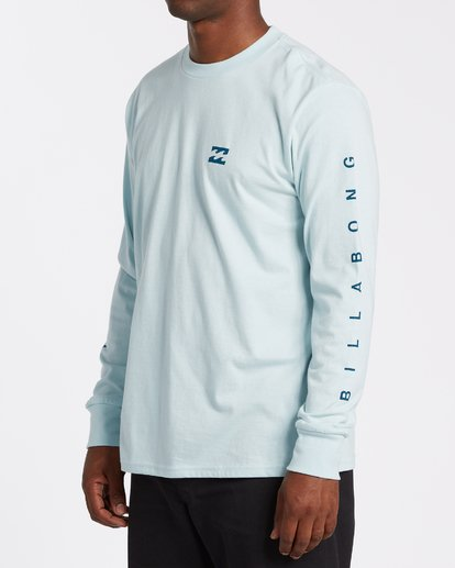 1 Unity Long Sleeve T-Shirt Blue M4052BUN Billabong