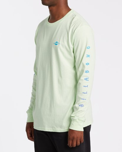 1 Unity Long Sleeve T-Shirt Brown M4052BUN Billabong