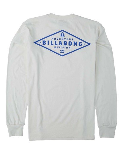 1 Alpine Long Sleeve T-Shirt White M4053BAL Billabong