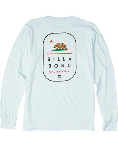 1 California Tour Long Sleeve T-Shirt Blue M4053BCR Billabong