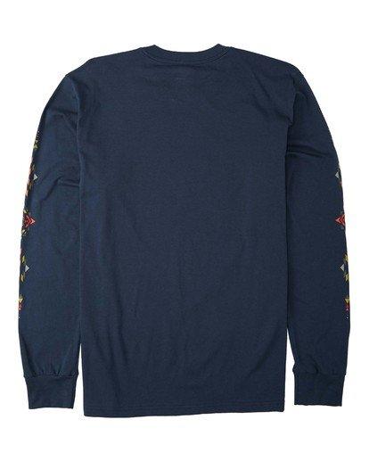 4 Dbah Long Sleeve T-Shirt Blue M4053BDB Billabong