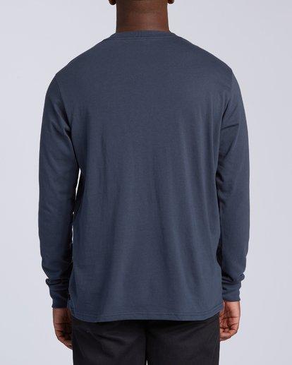 3 Dbah Long Sleeve T-Shirt Blue M4053BDB Billabong
