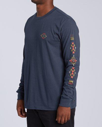 1 Dbah Long Sleeve T-Shirt Blue M4053BDB Billabong