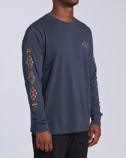 2 Dbah Long Sleeve T-Shirt Blue M4053BDB Billabong