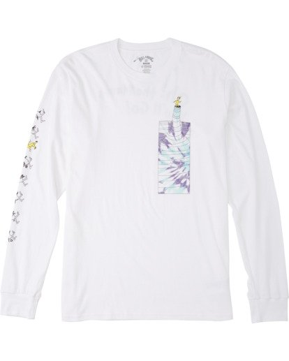 4 Great Places Long Sleeve T-Shirt White M4053BGP Billabong