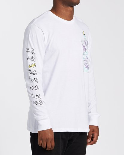 2 Great Places Long Sleeve T-Shirt White M4053BGP Billabong