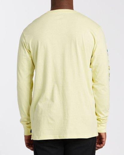 2 Little Car Long Sleeve T-Shirt Yellow M4053BLC Billabong