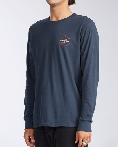 1 Rotor Long Sleeve T-Shirt Blue M4053BRO Billabong
