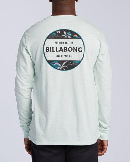2 Rotor Long Sleeve T-Shirt Multicolor M4053BRO Billabong