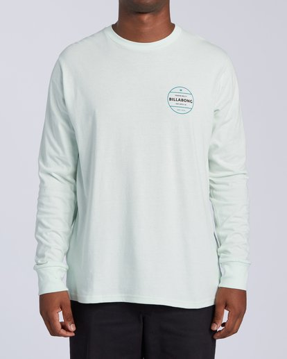 0 Rotor Long Sleeve T-Shirt Multicolor M4053BRO Billabong