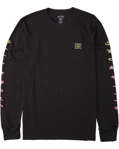 4 Unite Long Sleeve T-Shirt Black M4053BUT Billabong