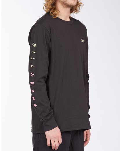 2 Unite Long Sleeve T-Shirt Black M4053BUT Billabong