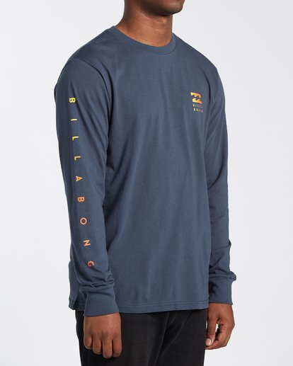2 Unity Long Sleeve T-Shirt Blue M4053BUY Billabong