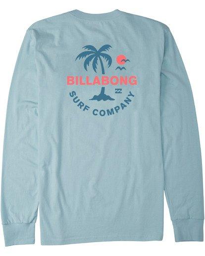 4 Vacation Long Sleeve T-Shirt Blue M4053BVA Billabong