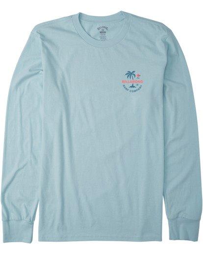 3 Vacation Long Sleeve T-Shirt Blue M4053BVA Billabong