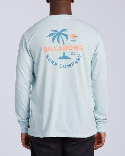 2 Vacation Long Sleeve T-Shirt Blue M4053BVA Billabong