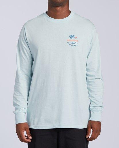 0 Vacation Long Sleeve T-Shirt Blue M4053BVA Billabong