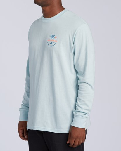 1 Vacation Long Sleeve T-Shirt Blue M4053BVA Billabong