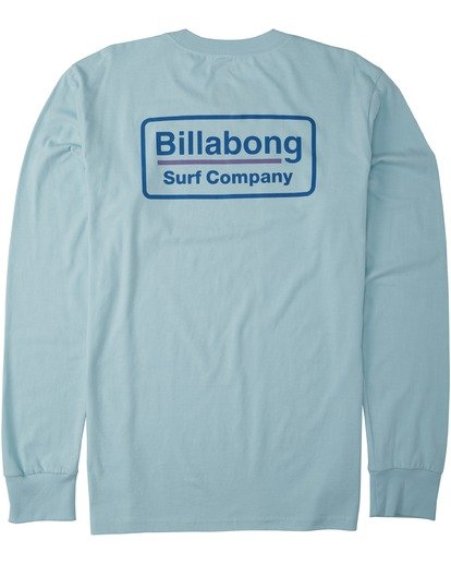 1 Walled Long Sleeve T-Shirt Blue M4053BWA Billabong