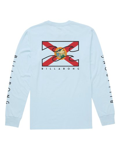 1 Fl-Native Long Sleeve T-Shirt Blue M405JNFL Billabong