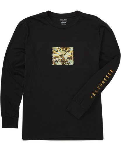 1 Ai Forever Long Sleeve T-Shirt Black M405PAIF Billabong