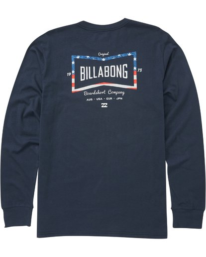 1 Craftsman Long Sleeve T-Shirt  M405PBCM Billabong