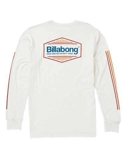 1 Pacific Long Sleeve Graphic T-Shirt White M405SBPA Billabong