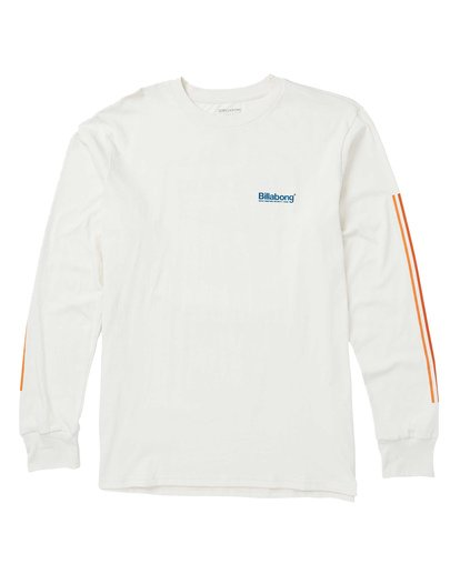 0 Pacific Long Sleeve Graphic T-Shirt White M405SBPA Billabong
