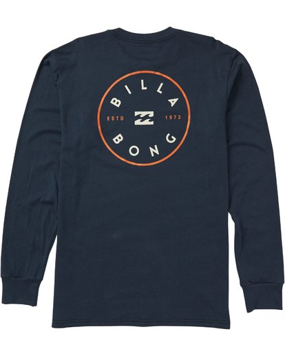 1 Rotor Long Sleeve Graphic T-Shirt Blue M405SBRO Billabong