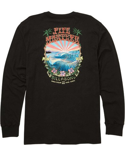 1 Banzai Long Sleeve T-Shirt  M405TBBZ Billabong