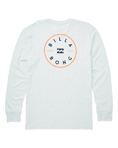 1 Rotor Long Sleeve T-Shirt Blue M405TBRH Billabong