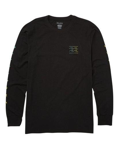 0 Unity Sleeves Long Sleeve T-Shirt  M405TBUS Billabong