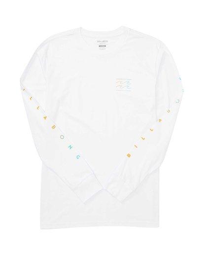 1 Unity Sleeves Long Sleeve T-Shirt White M405TBUS Billabong
