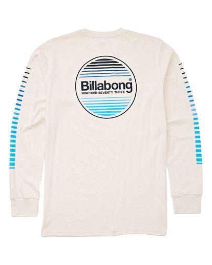1 Atlantic Long Sleeve T-Shirt White M405UBAT Billabong