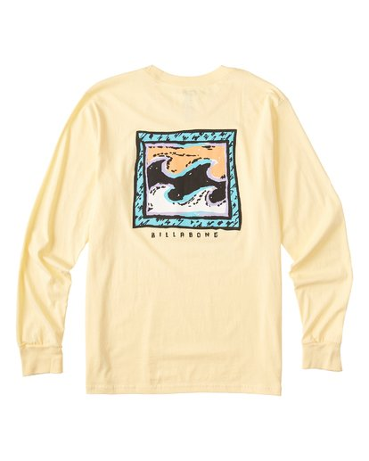 4 High Tide Long Sleeve T-Shirt  M405UBHT Billabong