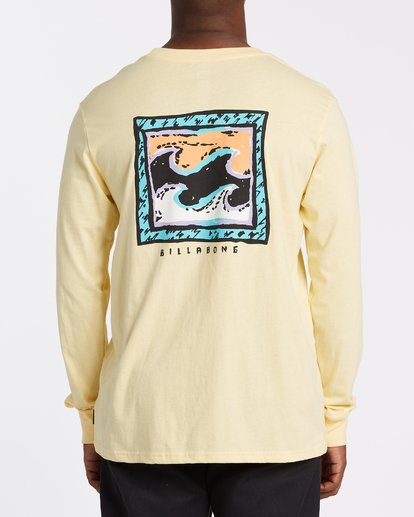 2 High Tide Long Sleeve T-Shirt  M405UBHT Billabong