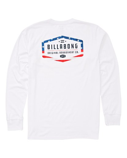 1 Maker Long Sleeve T-Shirt White M405UBMA Billabong