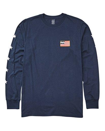 0 Washington Long Sleeve T-Shirt  M405UBWA Billabong