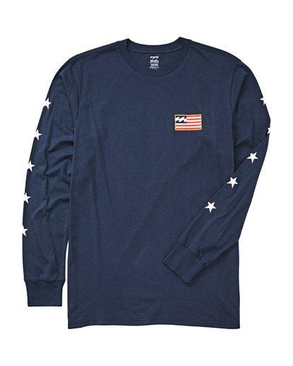 1 Washington Long Sleeve T-Shirt  M405UBWA Billabong