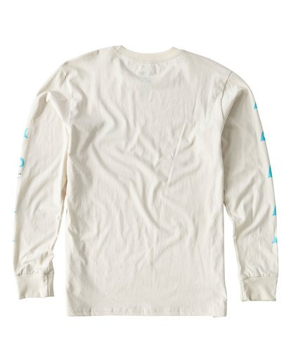 1 Wave Language Long Sleeve T-Shirt White M405UBWL Billabong