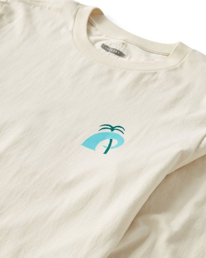 3 Wave Language Long Sleeve T-Shirt White M405UBWL Billabong