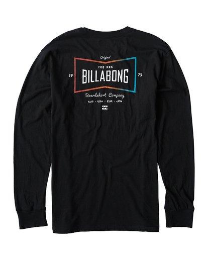 1 Original Long Seeve T-Shirt Black M405UORE Billabong