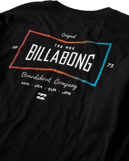 3 Original Long Seeve T-Shirt Black M405UORE Billabong